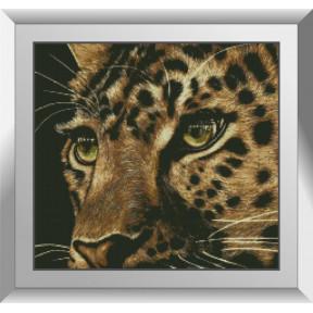 Набор алмазной живописи Dream Art Леопард 31527D