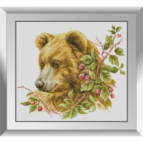 Набор алмазной живописи Dream Art Коричневый медведь 31532D