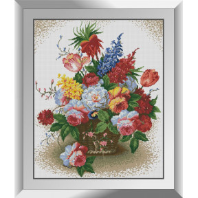 Набор алмазной живописи Dream Art Корзина цветов 31533D
