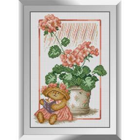 Набор алмазной живописи Dream Art Читающий мишка 31550D