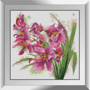 Набор алмазной живописи Dream Art Цветение лилий 31553D