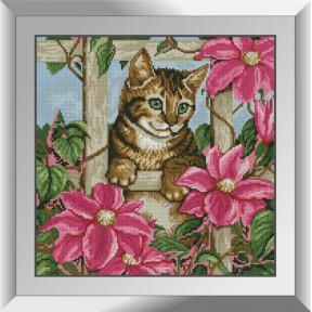 Набор алмазной живописи Dream Art Любопытство котенка 31555D