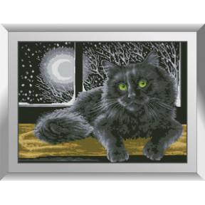 Набор алмазной живописи Dream Art Кот в ночи 31556D