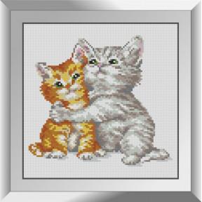 Набор алмазной живописи Dream Art Котячьи обнимашки 31559D