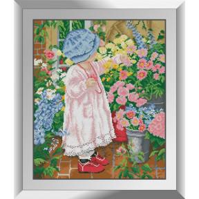 Набор алмазной живописи Dream Art Садовница 31560D