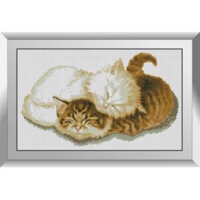 Набор алмазной живописи Dream Art Котятки 31561D