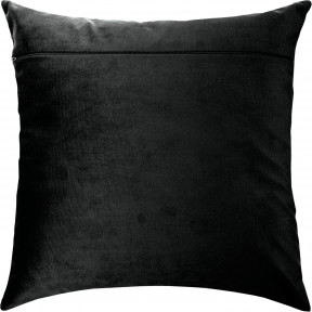 Обратная сторона наволочки для подушки Чарівниця Черный (бархат) VB-317