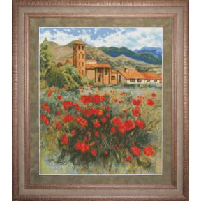 Набор для вышивки крестом Юнона 0703 Испанский полдень