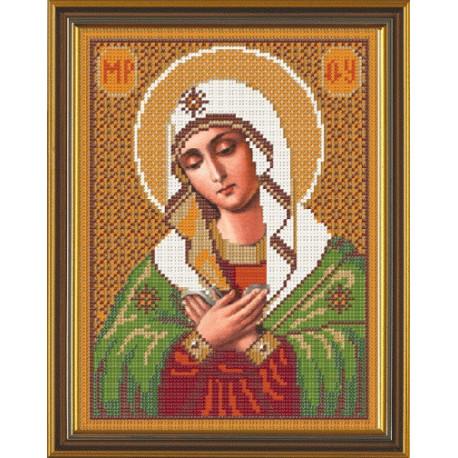 Набор для вышивания бисером Нова Слобода С-9022 Св.Богородица