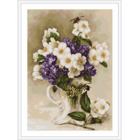 Набор для вышивки гобелена Luca-S  Цветы жасмина G512