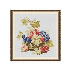 """Набор для вышивки крестом Dantel """"Натюрморт с фруктами"""" 011 SM"""