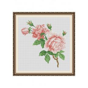 """Набор для вышивки крестом Dantel """"Розы""""  032 d"""