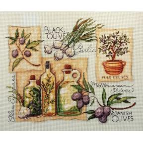 Набор для вышивания крестом Classic Design Пряности и травы 4490