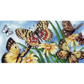 Набор для вышивания крестом Classic Design Летние Бабочки 4492