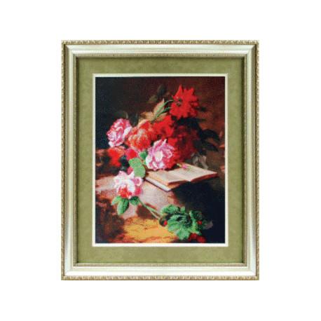 Набор для вышивания Чарівна Мить Б-611 Цветочная поэзия фото