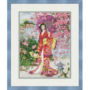 Набор для вышивания крестиком OLanTa Восточная красавица  VN-156
