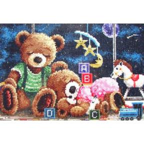 Набор для вышивания  Janlynn 195-0600 Goodnight Bears