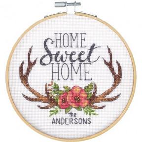 """Набор для вышивания крестом """"Home Sweet Home//Дом милый дом"""" DIMENSIONS 72-75984"""