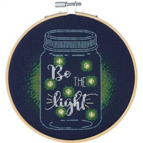 """Набор для вышивания крестом """"Be the Light//Будь светом"""" DIMENSIONS 72-75982"""