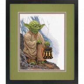 """Набор для вышивания крестом """"Star Wars Yoda//Звездные Войны Йода"""" DIMENSIONS 70-35392"""