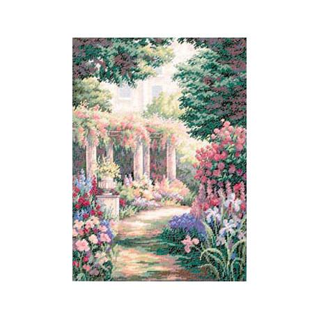 Набор для вышивки крестом Dimensions 35079 Floral Retreat фото