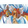Набор для вышивания Нова Слобода НК-5049 Зимняя Сказка фото