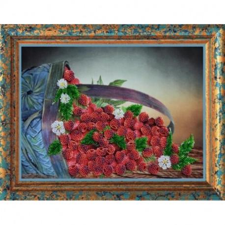 Набор для вышивания Картины Бисером Р-066 Малина фото