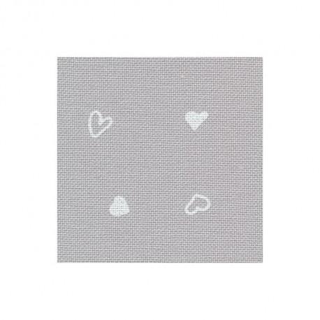 Ткань равномерная Murano Petit Coeur 32ct (50х35) Zweigart