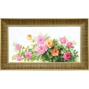 Набор для вышивания крестом  Чарівна Мить ВТ-090 Благоухание летних роз