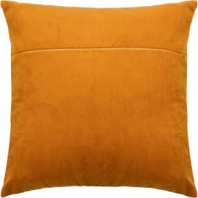 Обратная сторона наволочки для подушки Чарівниця Апельсин (бархат) VB-310