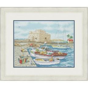 Набор для вышивания крестиком OLanTa  Замок у моря  VN-160