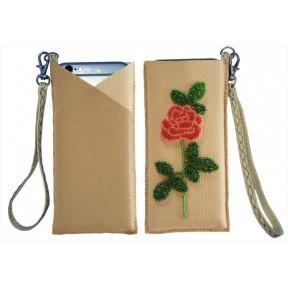 """Набор для вышивания бисером Butterfly Чехол для телефона"""" LB 061"""