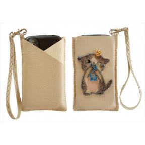 """Набор для вышивания бисером Butterfly Чехол для телефона """"Котенок"""" LB 064"""