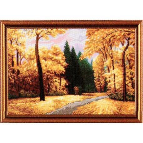 Набор для вышивания крестом Нова Слобода РЕ-3271 Осенний парк