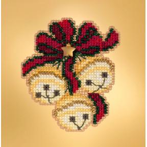 Набор для вышивания Mill Hill Jingle Bell Trio MH181933