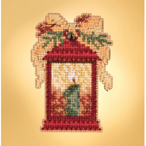 Набор для вышивания Mill Hill Christmas Lantern  MH181934
