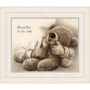 """Набор для вышивания Vervaco Teddy bear """"Плюшевый медведь"""" PN-0163748"""
