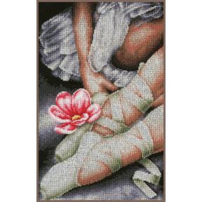 """Набор для вышивания Lanarte My little ballerina shoes """"Мои маленькие балетки"""" PN-0157513"""