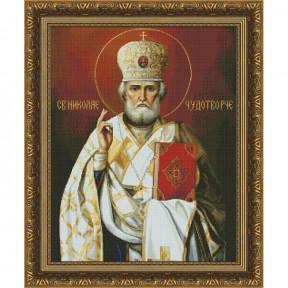 Набор для вышивки крестом Юнона  Святой Николай Чудотворец 1602