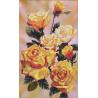 Набор для вышивания крестом Нова Слобода СР-3041 Желтые Розы