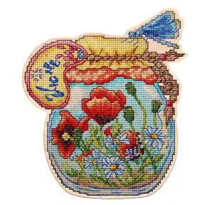 Набор для вышивки крестом Alisena Баночка – Июнь 5560а
