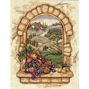 Набор для вышивания крестом Classic Design Вид Тосканы 4497