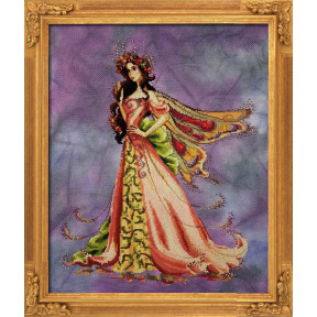 """Схема для вышивания BELLA FILIPINA """"Queen Flower Fairy"""" BF004"""