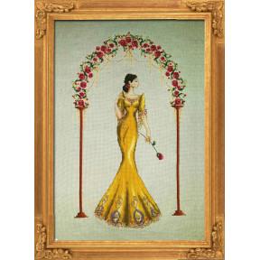 """Схема для вышивания BELLA FILIPINA """"Rosa Mystica"""" BF001"""
