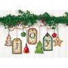 Набор для вышивания Dimensions 70-08849 Joy Tag Ornaments фото