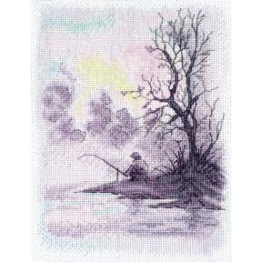 Набор для вышивания крестом Марічка Утро на озере НКА-019