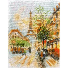 Набор для вышивания крестом Марічка Парижская осень НКА-018