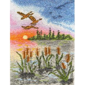 Набор для вышивания крестом Марічка Летний закат НКА-017