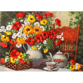 "Набор для вышивания лентами Марічка ""Душистый чай"" НЛ-3072"