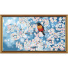 Набор для вышивания бисером Новая Слобода НК-6238 Весенние